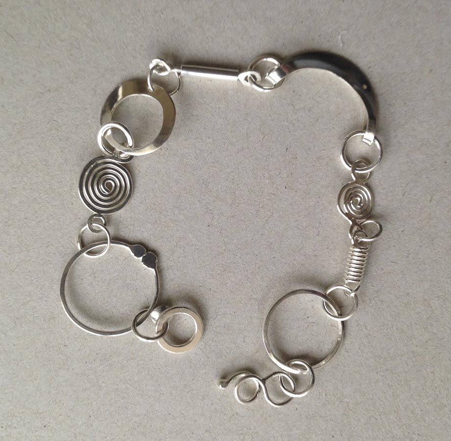 Bracelet - Variations on a Circle Series