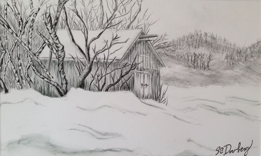 SOLD-Scase Barn - Berkshire Series #1